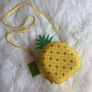 NWT KS How Refreshing Pineapple Crossbody Bag 🍍